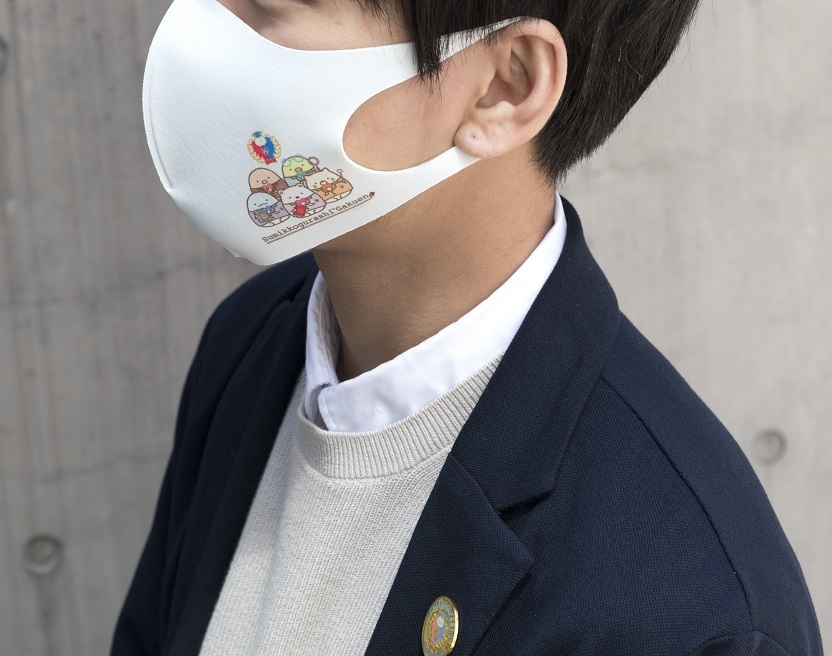 ファッションマスク(すみっコぐらし学園)